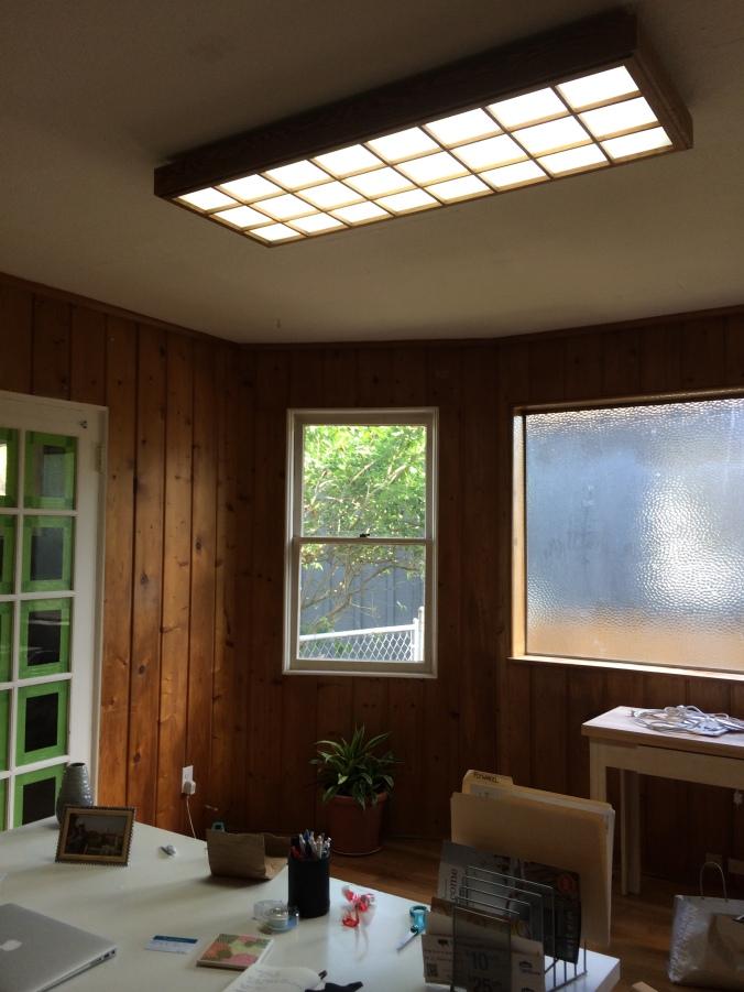 Office light before